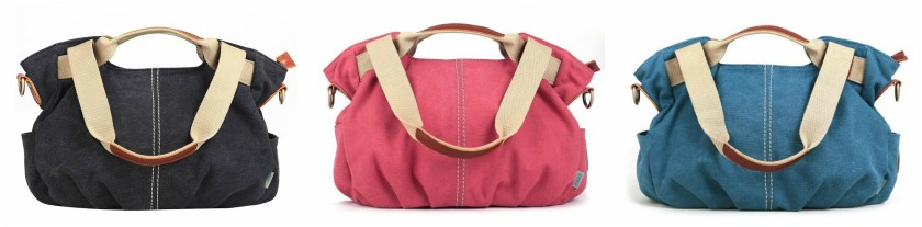 Eshow Canvas Bag only $28!