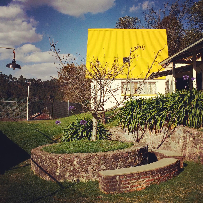 La casita amarilla mineral del chico hidalgo for Hotel casita amarilla