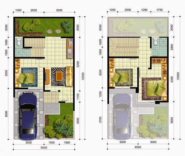 Desain Rumah Ukuran 7 X 15 Meter Info Lowongan Kerja ID