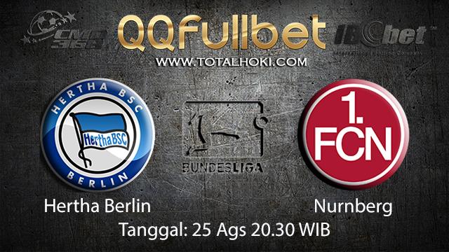 Prediksi Bola Jitu Hertha Berlin vs Nurnberg ( German Bundesliga )
