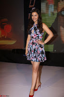 Kyra Dutta in a Deep neck Small Dress at Shamanthakamani pre release function ~  Exclusive 094.JPG