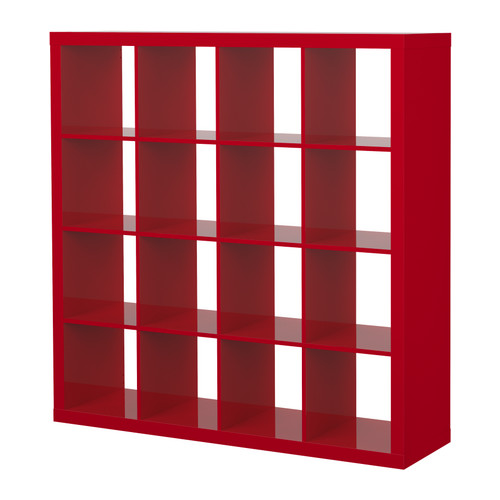 wishlist expedit regal hochglanz rot. Black Bedroom Furniture Sets. Home Design Ideas