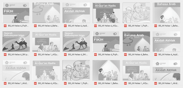 Buku Pegangan Guru Dan Buku Siswa MI (Madrasah Ibtidaiyah) Mata Pelajaran PAI Kurikulum 2013