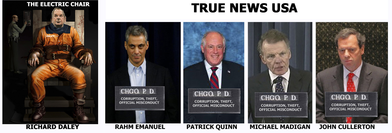 TRUE NEWS USA - Cook County & Chicago Pandering News ~ US