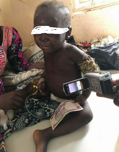 Sad Photos Of Father Who Allegedly Rapes His Two Year Old And Brutalizes Her In Kaduna