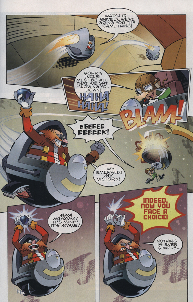 Read online Sonic The Hedgehog comic -  Issue #223 - 29