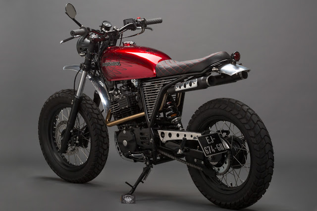 Honda XLR600 Scrambler by Dirty Seven Garage