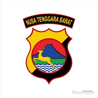 Polda Nusa Tenggara Barat Logo vector (.cdr)