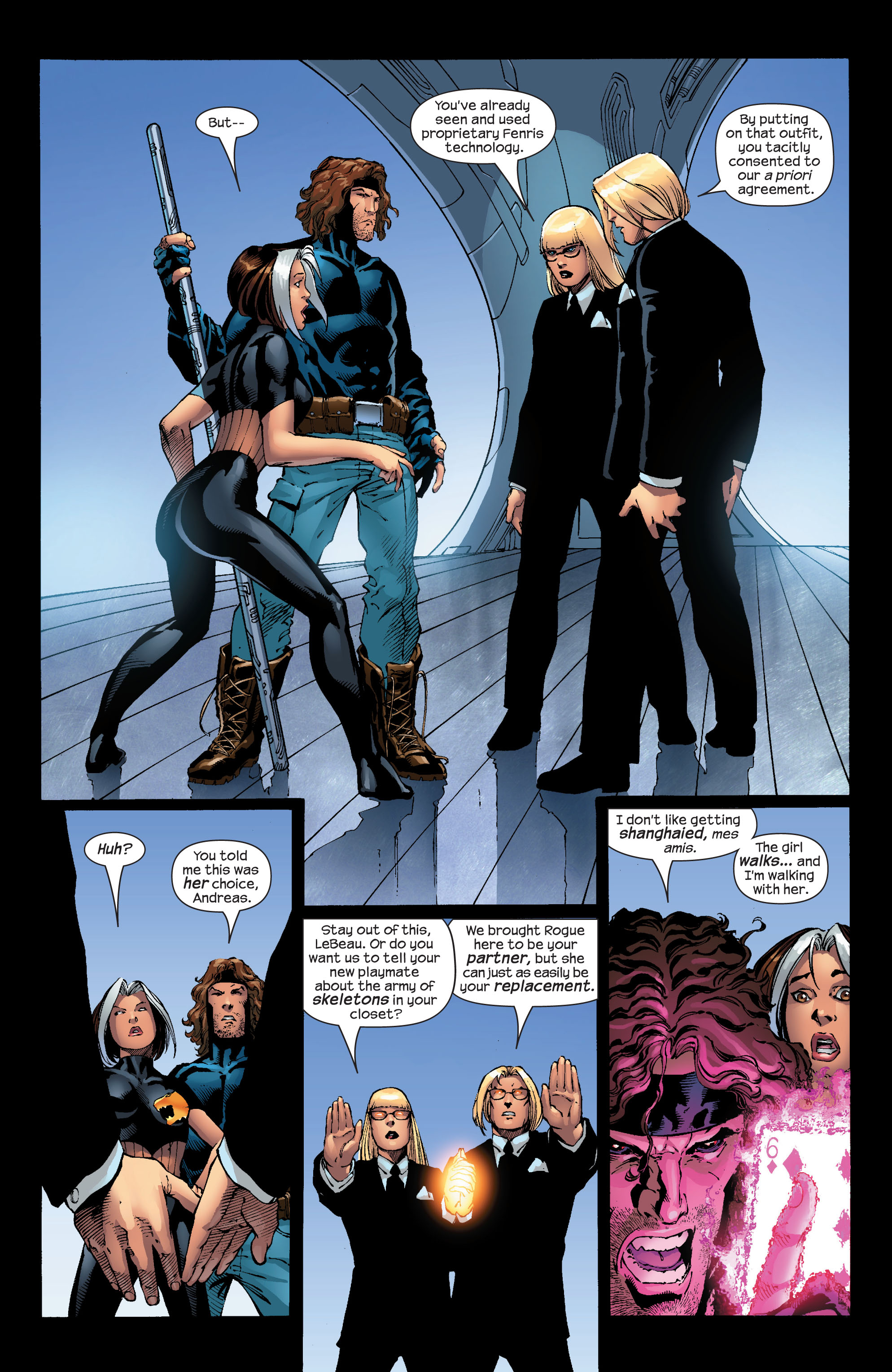 Read online Ultimate X-Men comic -  Issue #52 - 17