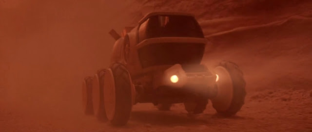 Rover in Sandstorm - Mission to Mars movie image