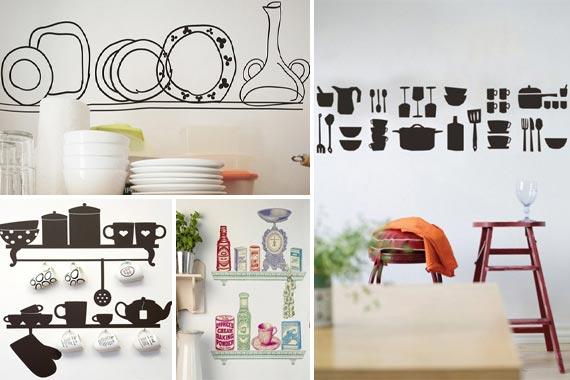 sticker dapur sci pusat. Black Bedroom Furniture Sets. Home Design Ideas