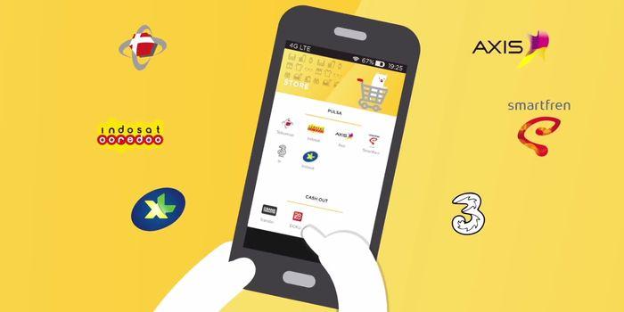 Aplikasi Android Digital Pulsa