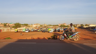 Scene along the Road in Bamako
