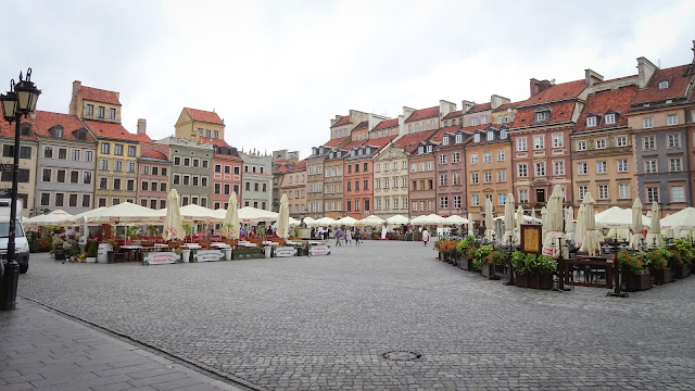 Warsaw Old Town center