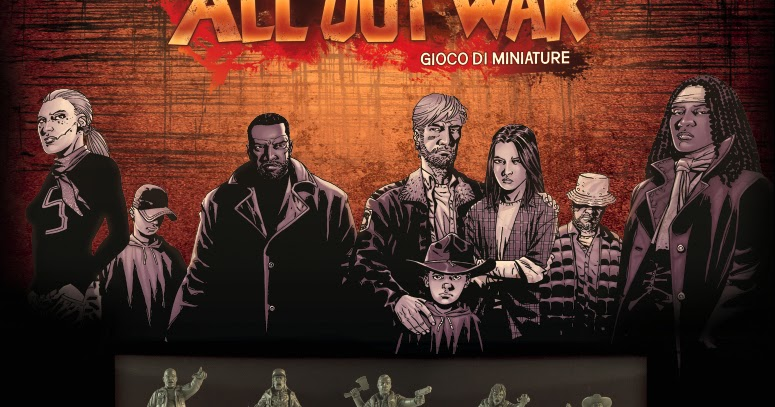 The Walking Dead: All Out War, l'edizione italiana uscirà a Novembre