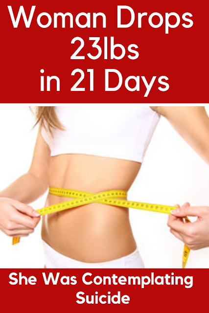 Woman Drops 23lbs in 21 Days
