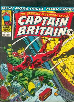 Marvel UK, Captain Britain #26, the Red Skull