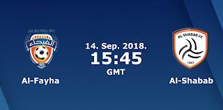 مباشر مشاهدة مباراة الشباب والفيحاء بث مباشر 14-09-2018 الدوري السعودي للمحترفين يوتيوب بدون تقطيع