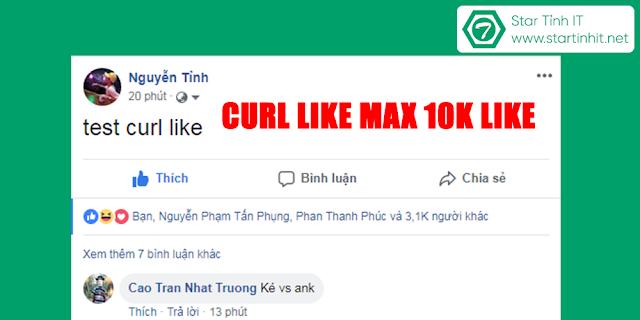 curl like tây free max 10k like 2018
