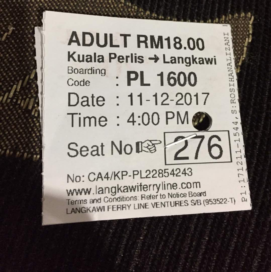 Pergi Langkawi Naik Train Ets Jom Cuti Cuti Malaysia