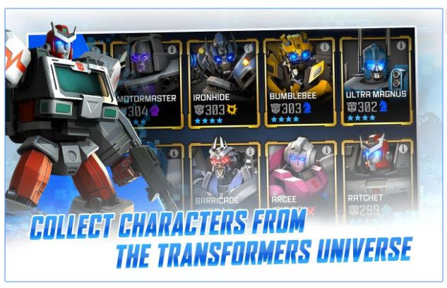 Game Terbaru April 2017 - Transformers: Forged to Fight Gameplay Pertarungan Real Time
