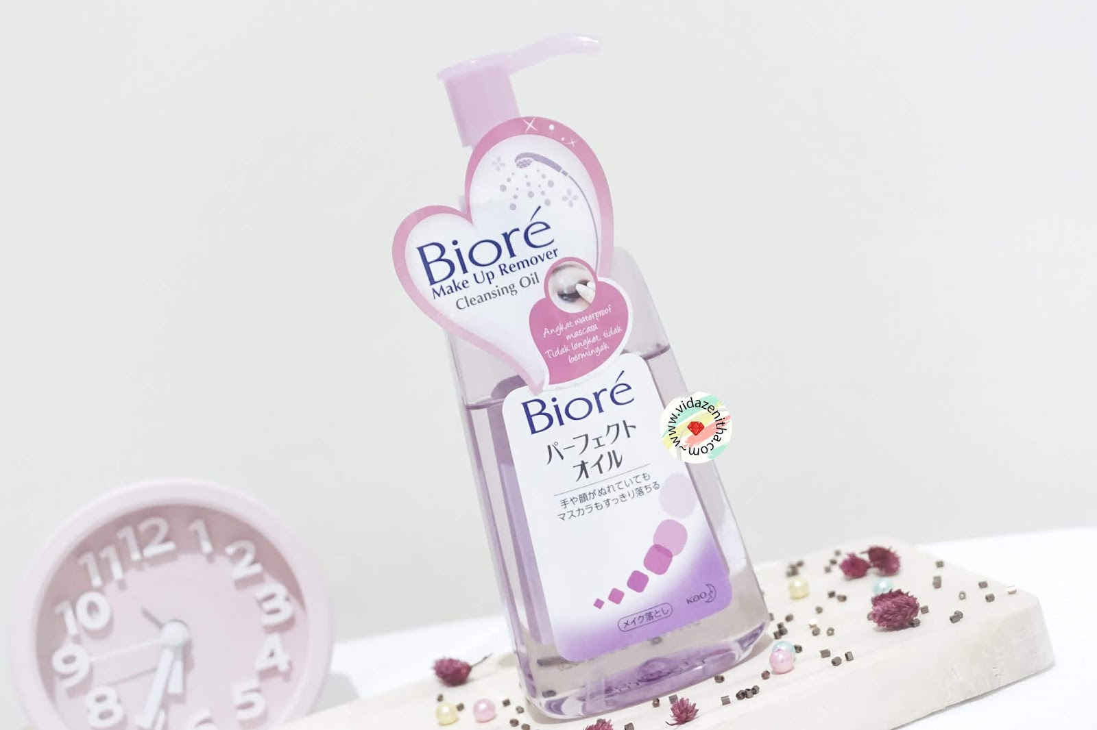 review biore cleansing oil