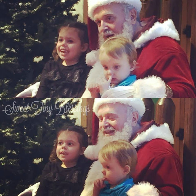 Santa and the Nose Picker