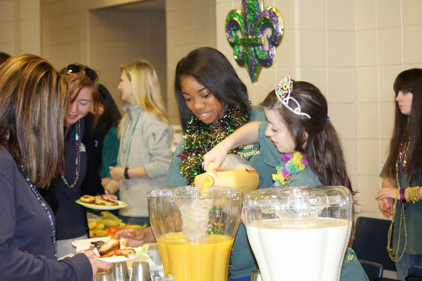 Montgomery Catholic Preparatory News 15th Annual Mardi Gras Prayer Breakfast Hosted By