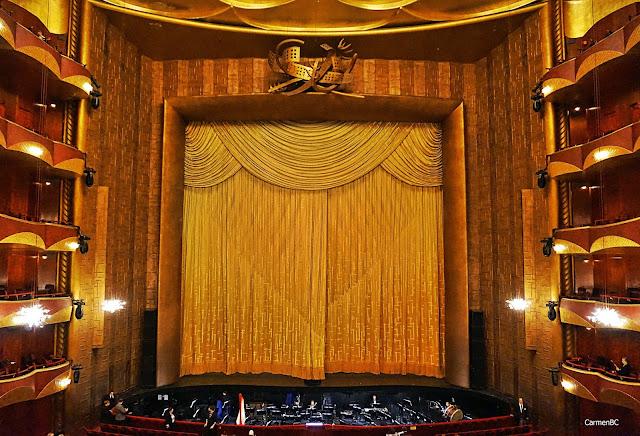 escenario The Metropolitan Opera