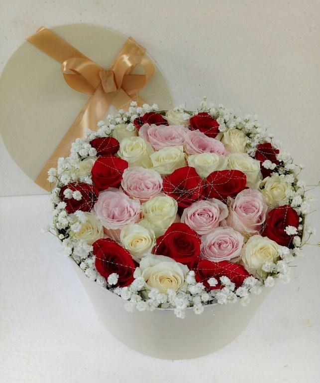Karangan Bunga Box 014