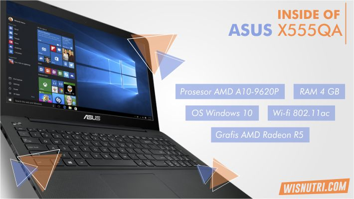 Review ASUS X555QA Indonesia