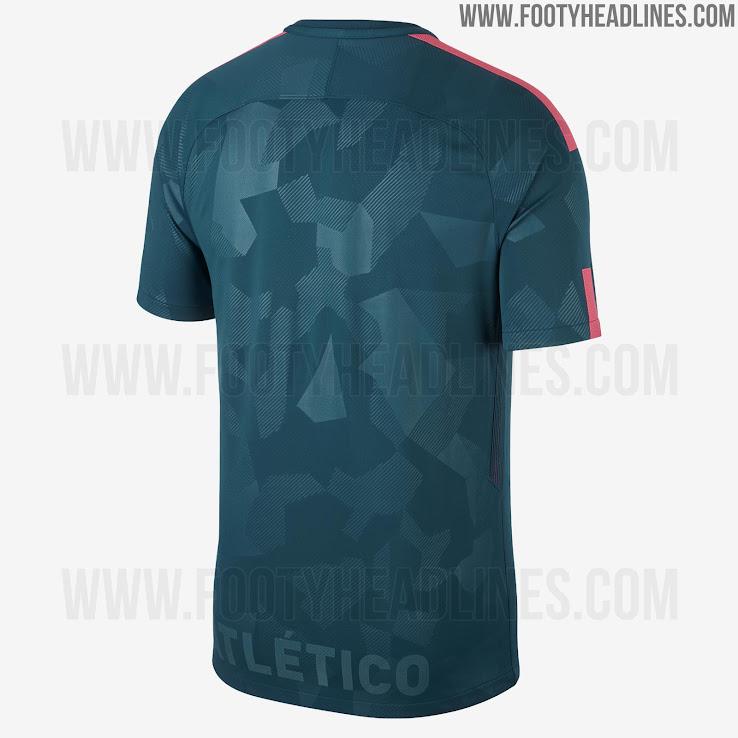 Atleti tercera camiseta 17 18