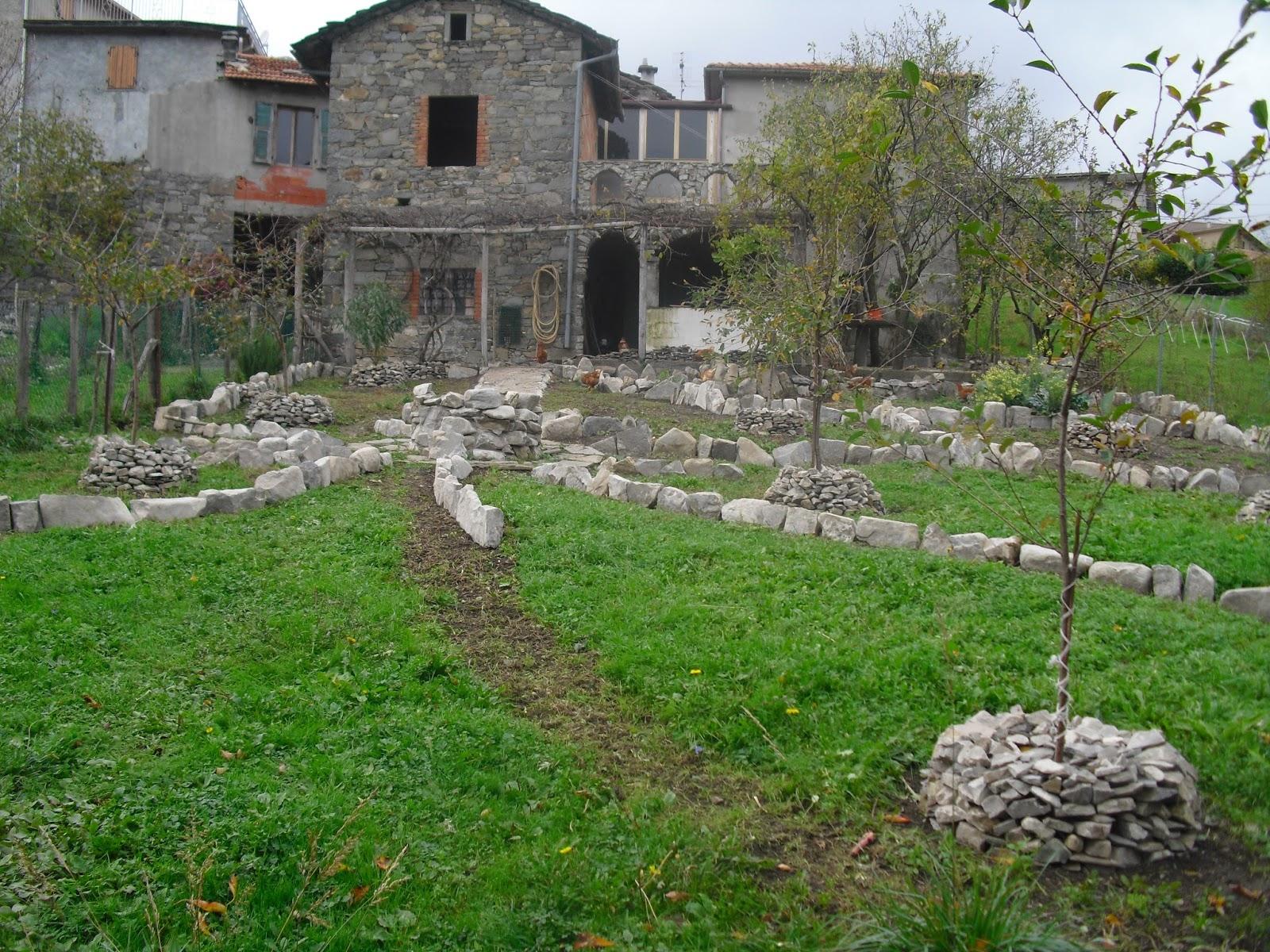 Ricomincio da zeri: un giardino di pietre