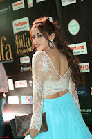 Telugu Actress Angela Krislinzki in transparent top at IIFA Awards 2017 Exclusive 29.JPG
