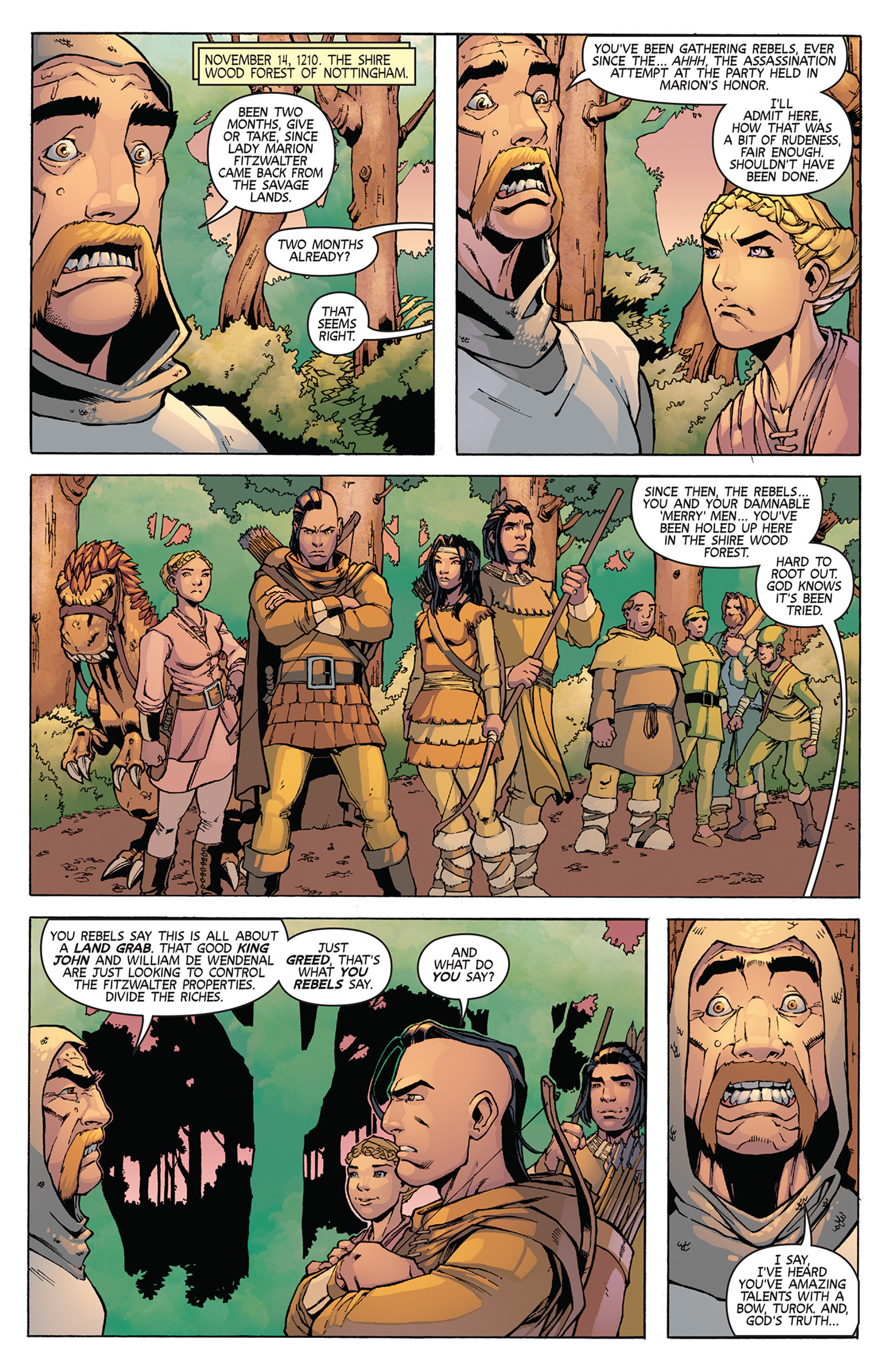 Read online Turok: Dinosaur Hunter (2014) comic -  Issue #11 - 3