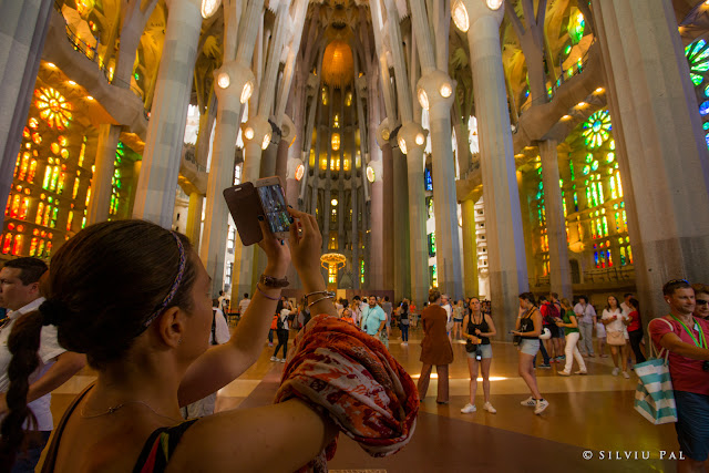 Travel to Barcelona: O expediție în capitala Catalunyei. Silviu Pal Blog. #TravelBlogger Sagrada Familia