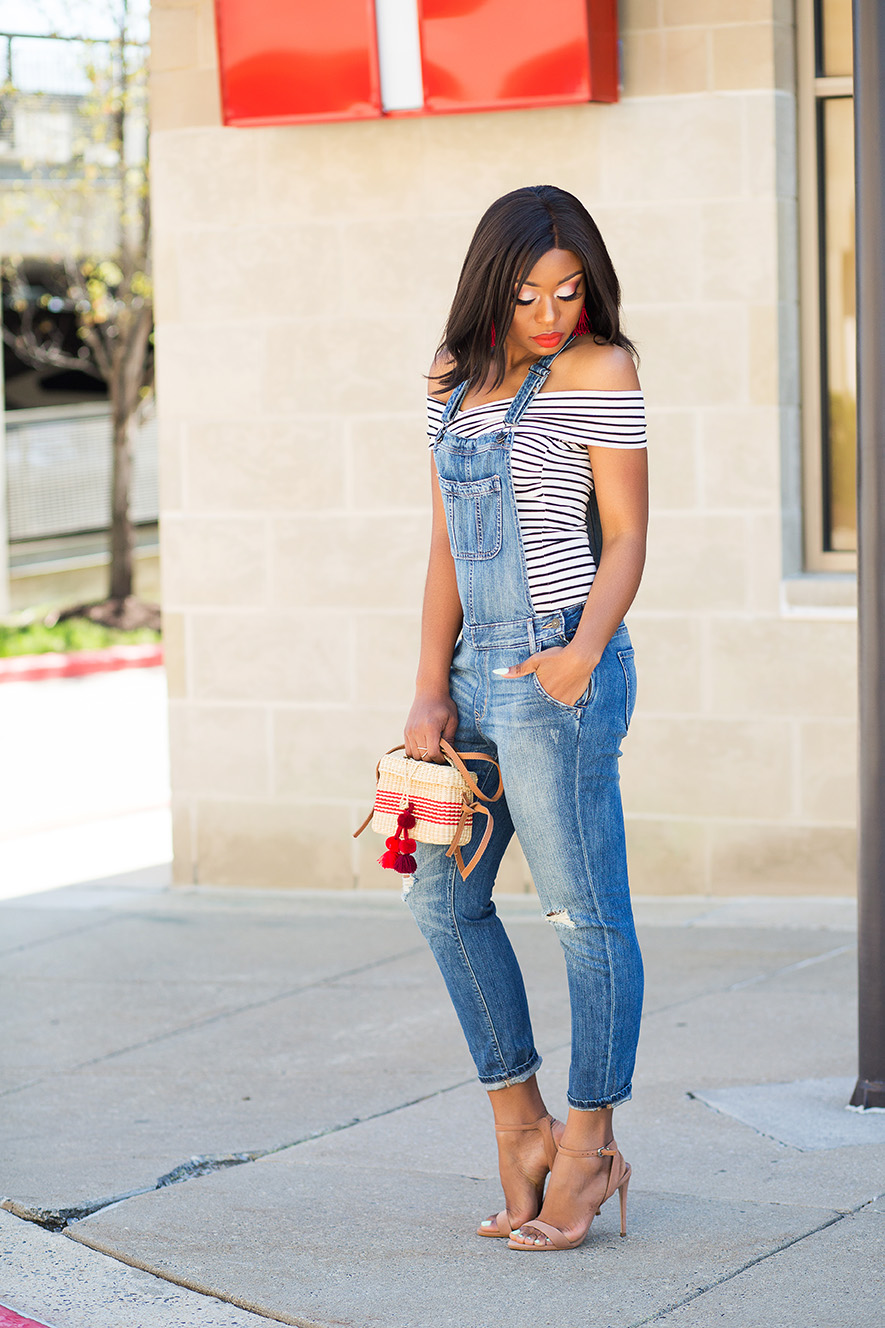 ways to wear denim overall, www.jadore-fashion.com