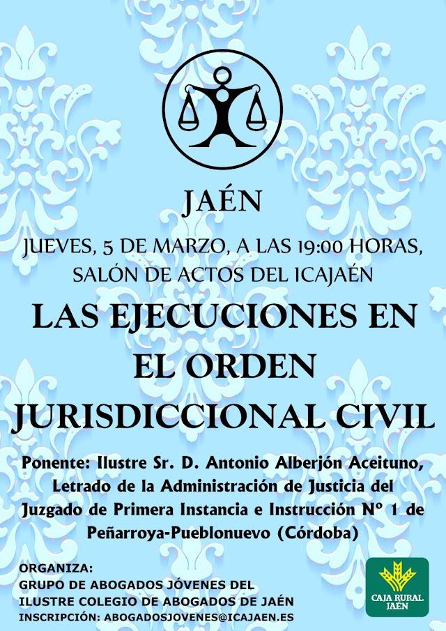 Las Ejecuciones Civiles en el Orden Jurisdiccional Civil