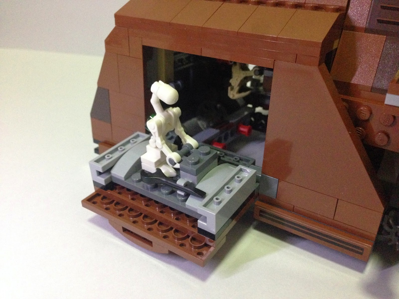 The Marriage of LEGO and Star Wars: Review: 75058 MTT