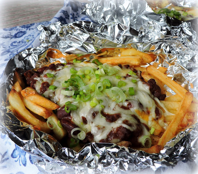 Foil Packet Chili Cheese Fries