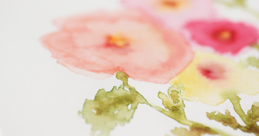 :: watercolor flowers