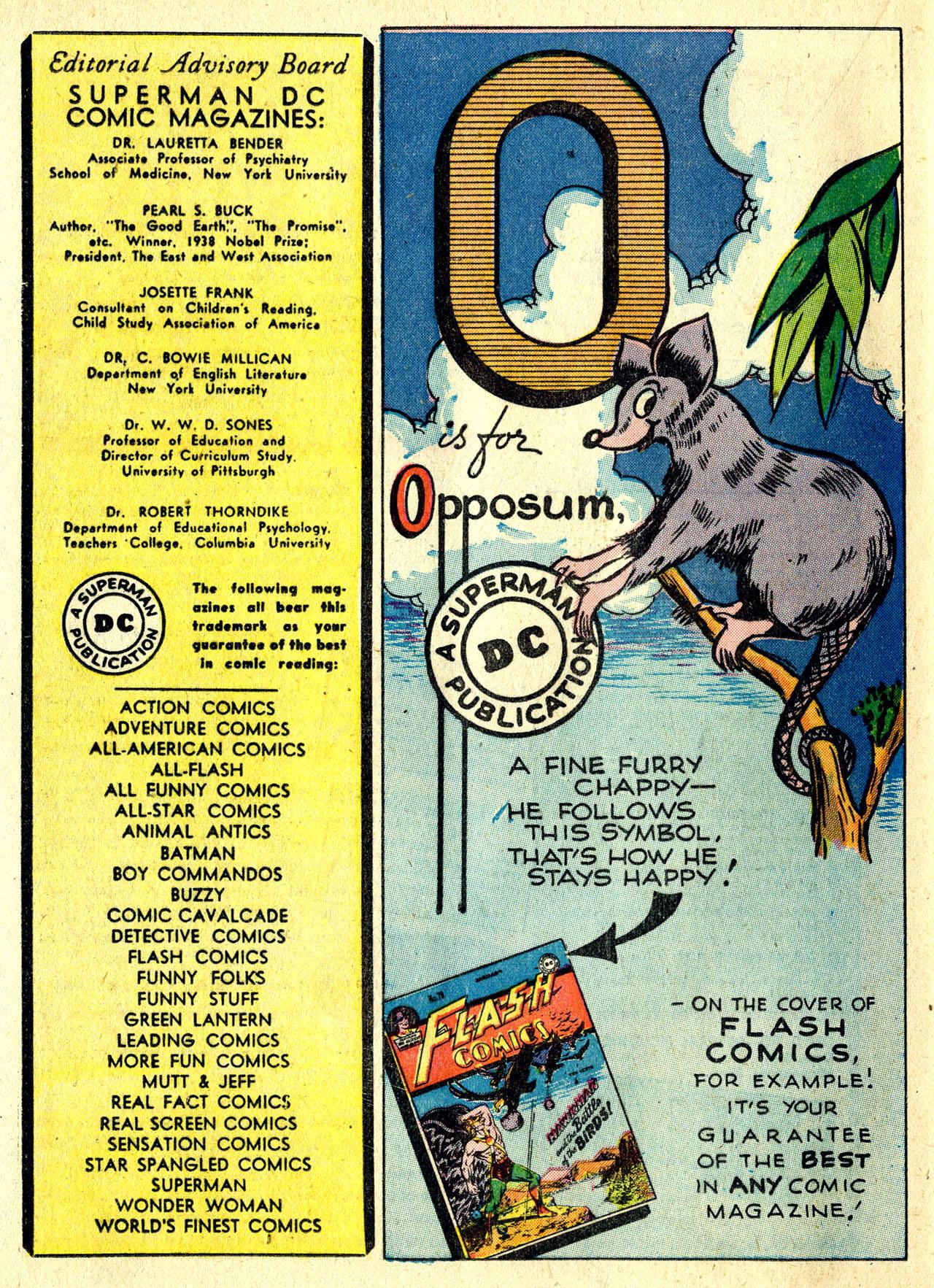 Read online Detective Comics (1937) comic -  Issue #119 - 34