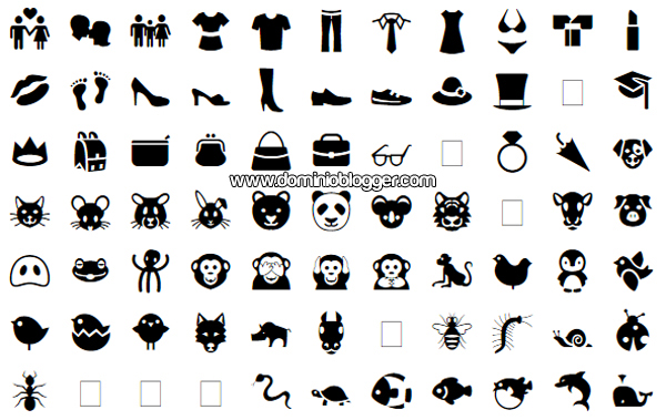 Emojis y simbolos