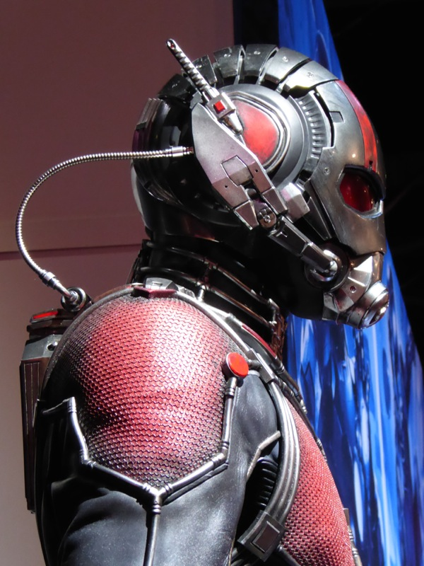 AntMan helmet costume detail