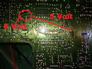Cara mengatasi problem suara TV LG yang disebabkan oleh kerusakan IC LV 1116 tanpa perlu menggantinya