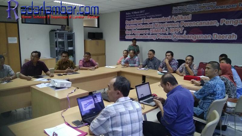 Pejabat Lambar Belajar Simral ke BPPT Tangerang Selatan
