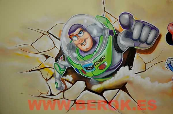 Graffiti Buzz Lightyear