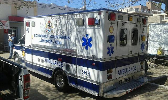 Grave accidente mujer con traumatismo de cráneo en Laborde