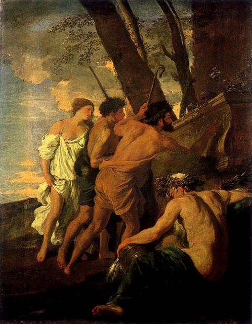 """""""Et in Arcadia ego"""" (Les Bergerer d' Arcadie) Version I  Nicholas Poussin"""