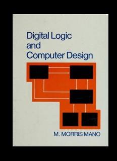 Download Digital Logic And Computer Design by M Morris Mano Pdf